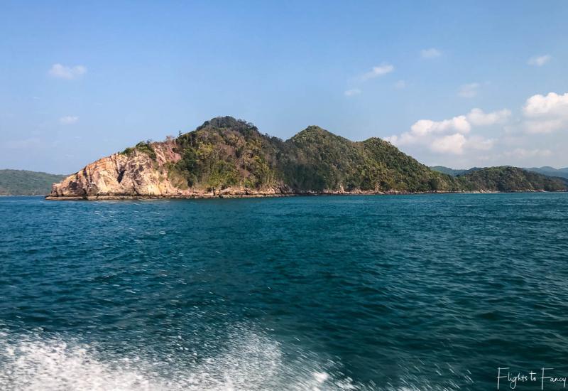 View from ferry from Rassada Pier Phuket to Saladan Pier Koh Lanta