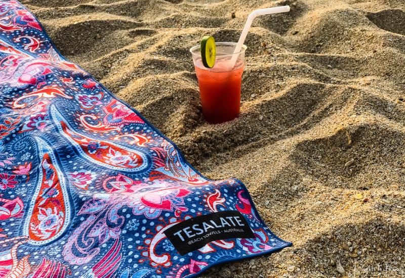 Cocktail & Cosmic Dream Tesalate Beach Towel