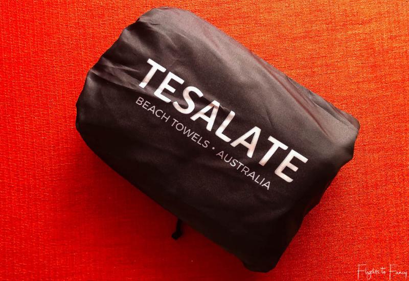 Tesalate Beach Towel Pouch