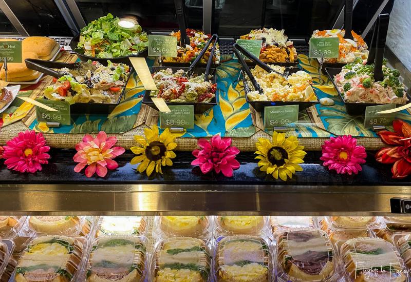 ABC Stores Deli Waikiki Salad Bar