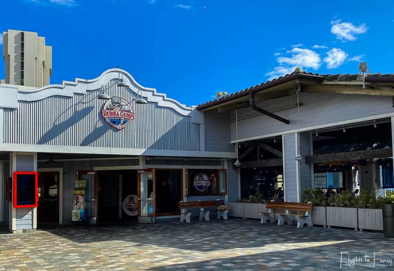 Bubba Gump Waikiki Exterior