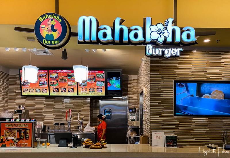 Food Hall Royal Hawaiian Canter - Mahaloha Burger