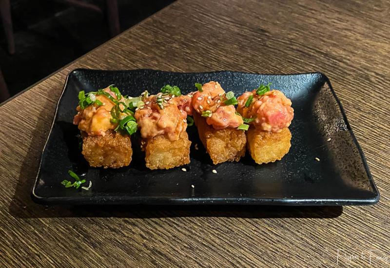 Gyu-Kaku Japanese BBQ Waikiki Spicy Volcano Tuna