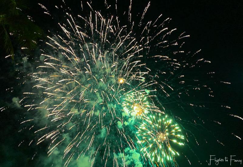 Hilton Hawaiian Village Waikiki Fireworks