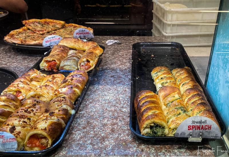 Makai Market Food Court Ala Moana Center - Sbarro Stromboli