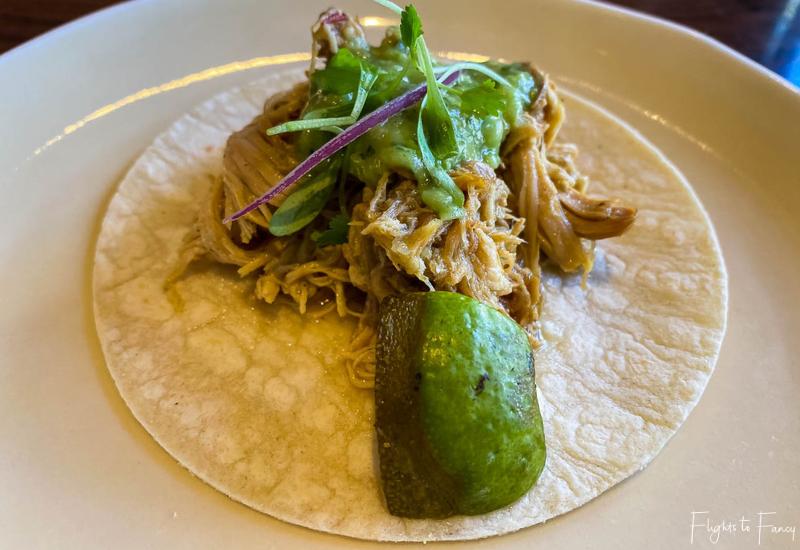 Mi Almita Cantina Waikiki Chicken Taco