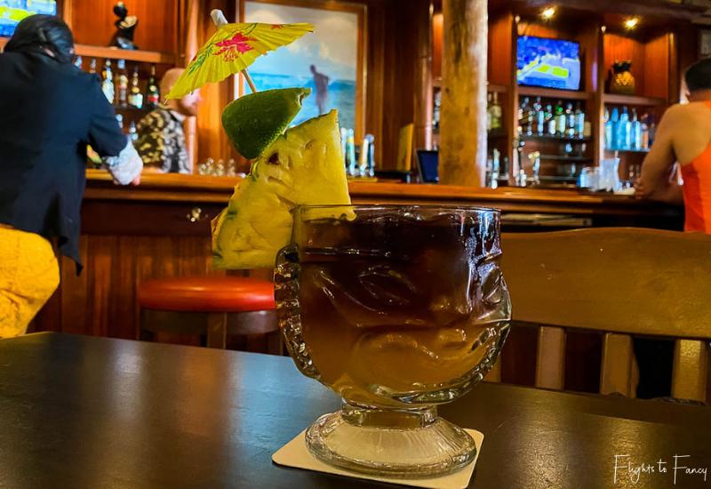 Plantation Bar @ Hula Grill Waikiki Mai Tai