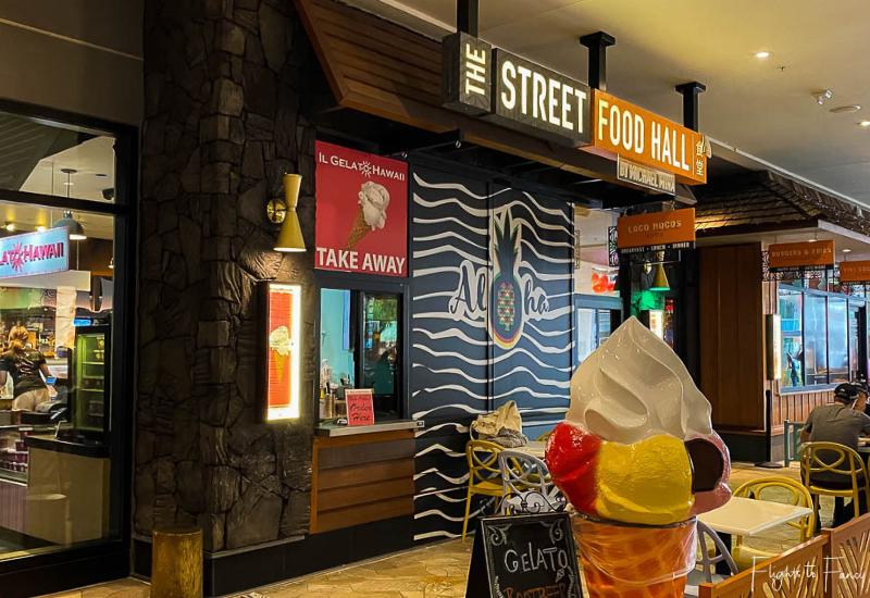 Street Food Hall by Michael Mina Waikiki Entrance