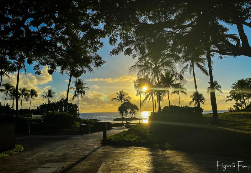 Sunset Ko Olina Lagoon
