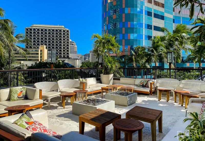Tommy Bahamas Waikiki Rooftop Bar