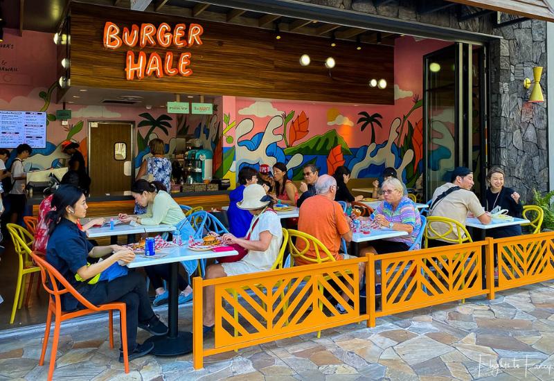 Waikiki Cheap Eats - Burger Hale