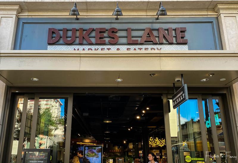 Waikiki Cheap Eats - Duke's Lane Market & Eatery
