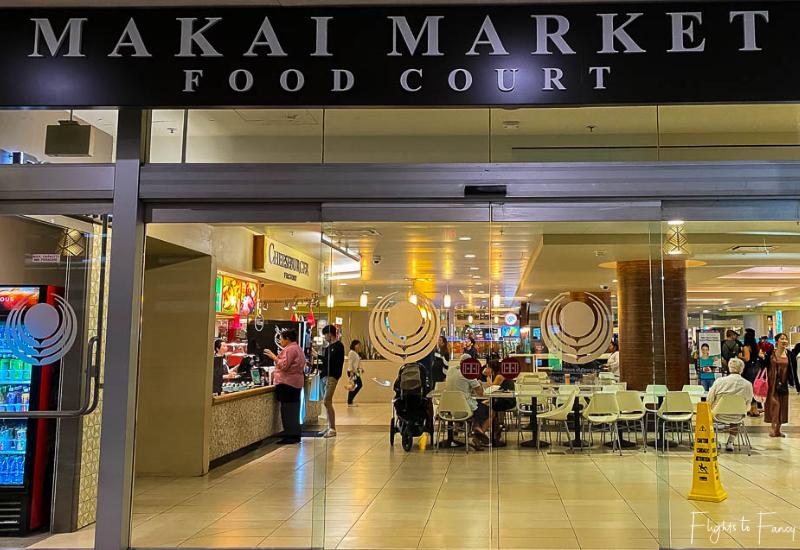 Waikiki Cheap Eats - Makai Market Food Court Ala Moana Center