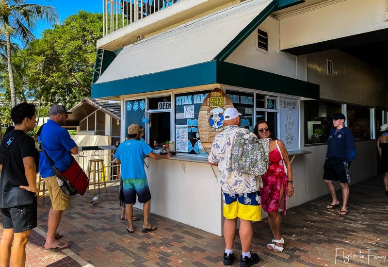 Waikiki Cheap Eats - Steak Shack