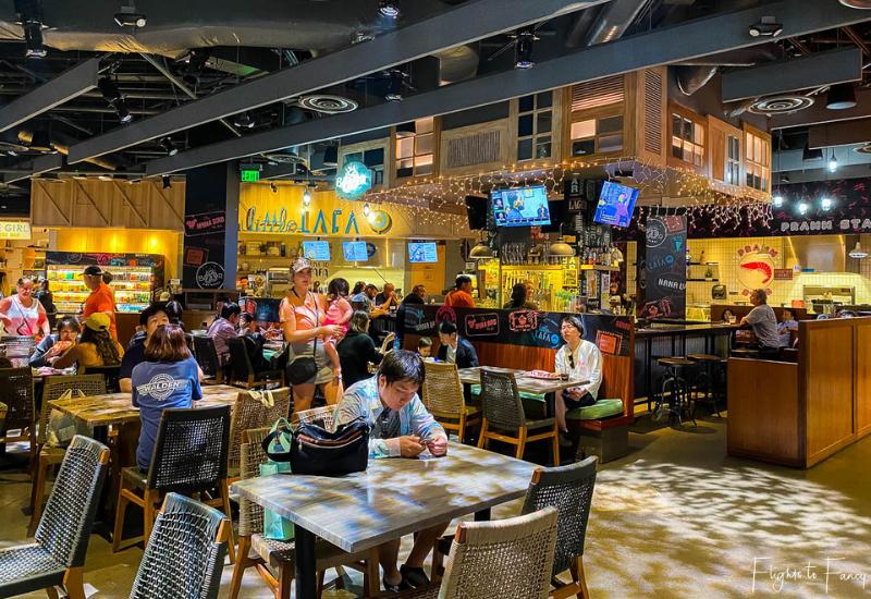 Waikiki Cheap Eats - Street Food Hall by Michael Mina