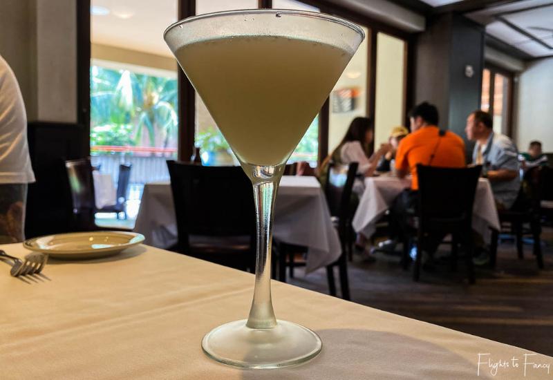 Wolfgangs Steakhouse Waikiki Lychee Martini
